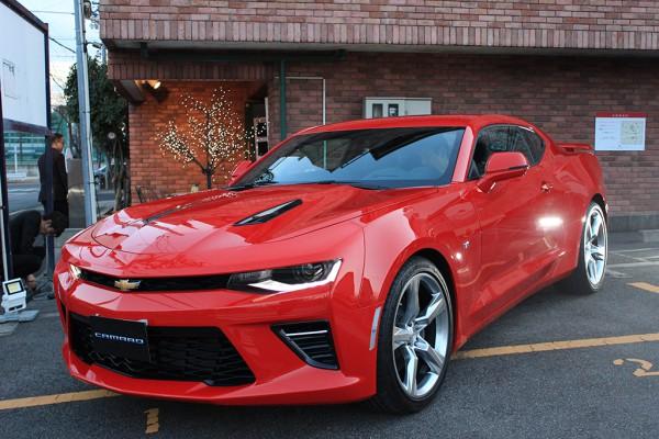 2月18日 Cheval Cafeにて、General Motors Japan Limitedの新車種の展示会を行いました。