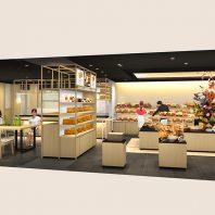 【BAKERY 京都桂別邸】ベーカリーカフェが3月4日(木)セントラルパーク地下街にグランドオープン予定!